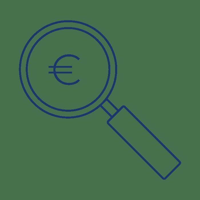 Aziendale revisione contabile icona - STTR